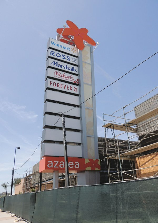 ALMOST DONE: Azalea, one of the only regional malls built in the state ...