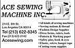 -- ACE SEWING MACHINE --