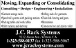 -J.C. RACK SYSTEMS--