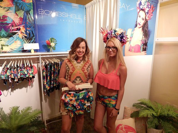 Bombshell Bay is a new swimwear company in its third season.