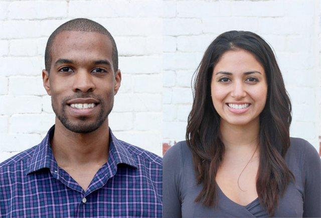Maker's Row co-founders Matthew Burnett, and Tanya Menendez