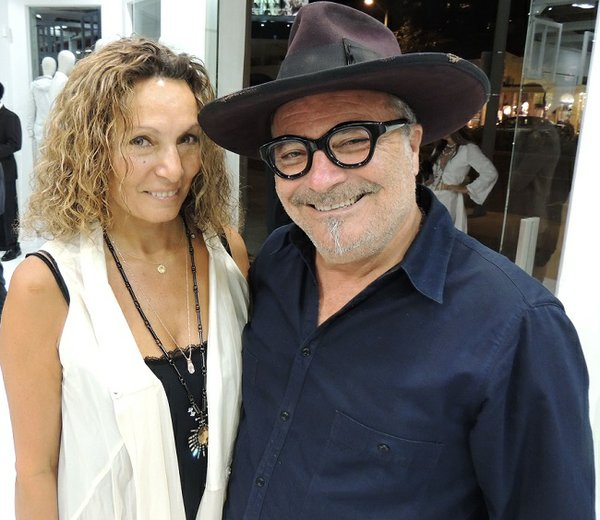 AVANT CHIEF:  Lorenzo Hadar, right, pictured with his wife Sharona Hadar. Lorenzo has been representing designer and avant garde designers at his H. Lorenzo Women boutique for decades. The boutique recently underwent a major renovation.