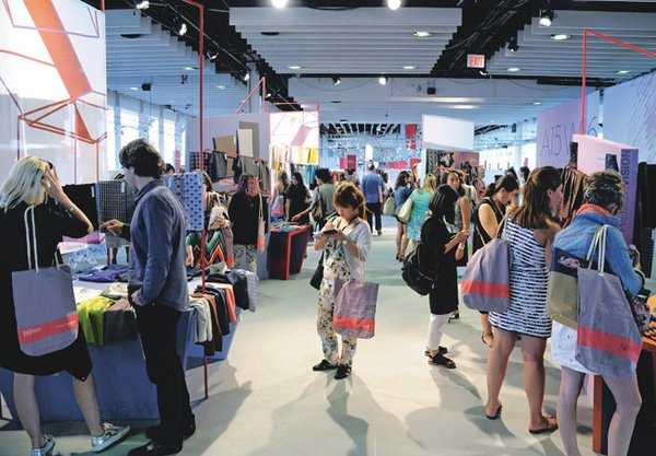 NEW VENUE: Première Vision New York and Indigo New York saw a 7 percent increase in attendance and a 16 percent increase in exhibitors over last year at the recent July 22–23 run at their new location at Pier 92 in New York.