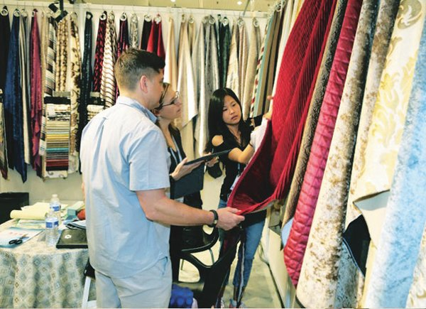 SOLD-OUT SHOW: Exhibition space was sold out with more than 180 exhibitors at the July 22–24 run of Texworld USA, the International Apparel Sourcing Show and the Home Textiles Sourcing Expo at the Jacob K. Javits Convention Center.