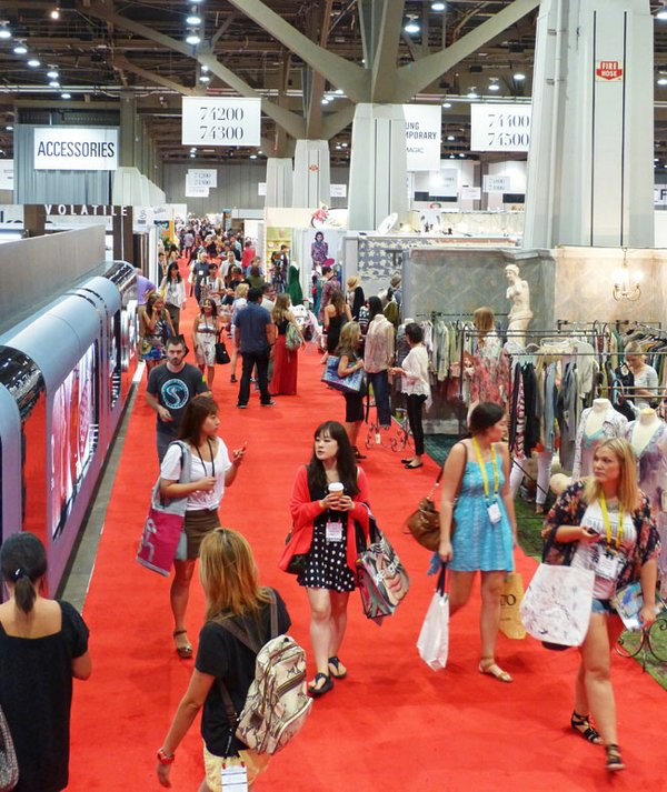 Focused buying for the season at las vegas shows for Pool trade show magic