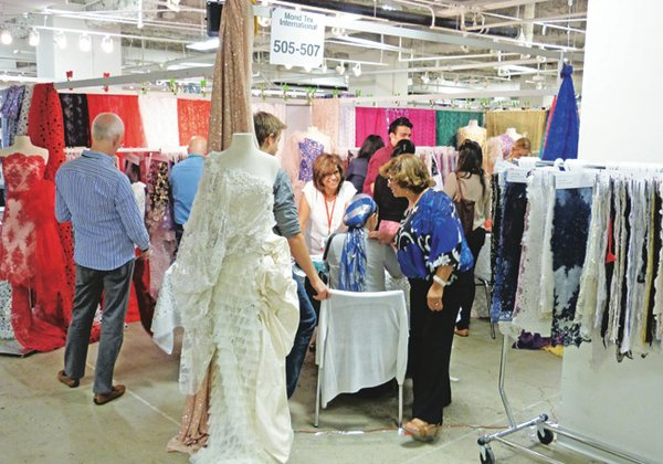 TREND SCOUTING: Large brands and independent designers were among the attendees at the Los Angeles International Textile Show, where exhibitors reported stronger traffic on the second and third days of the show.