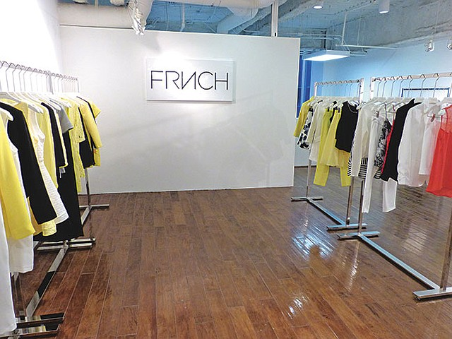 FRENCH BOW: Designed in France and in the U.S., new young contemporary line Frnch Label is debuting at Los Angeles Fashion Market.