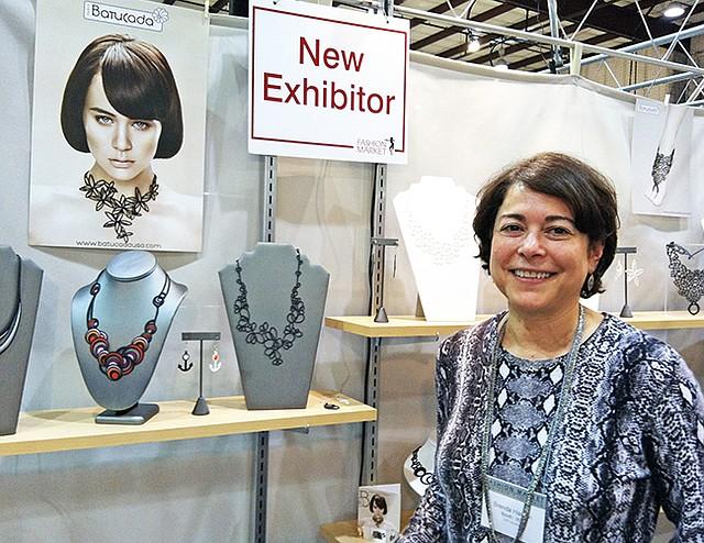 Brenda Hargan, sales representative for Batacuda and Potluck Paris