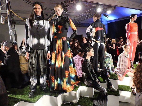 Los Angeles–based designer Maggie Barry was one of 11 international designers featured in Digital Couture, an event organized by print technology company Epson on the eve of New York Fashion Week.