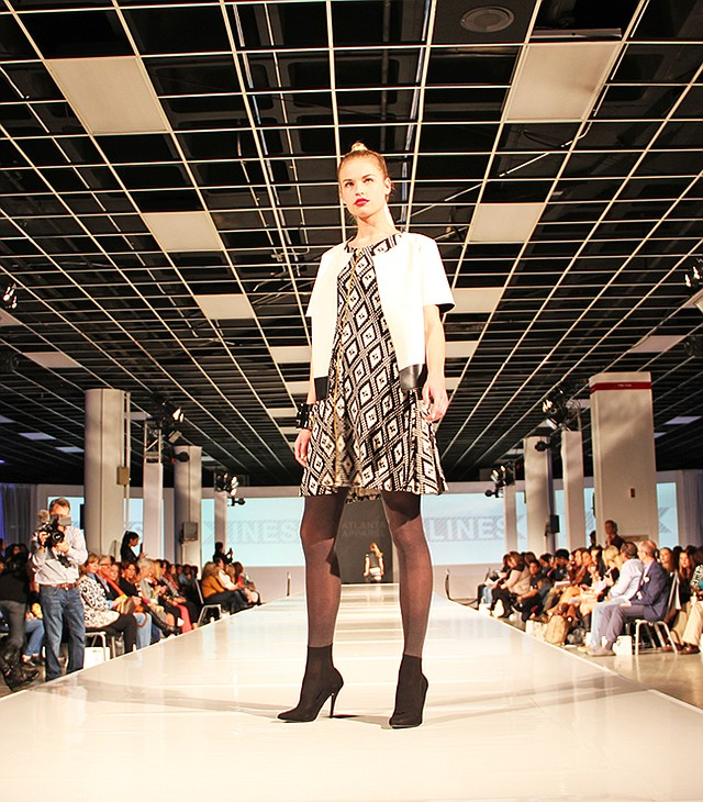 The Lines fashion show