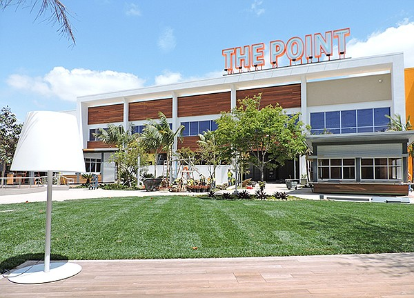 NEW MALL: The Point is scheduled to take a bow on July 30.