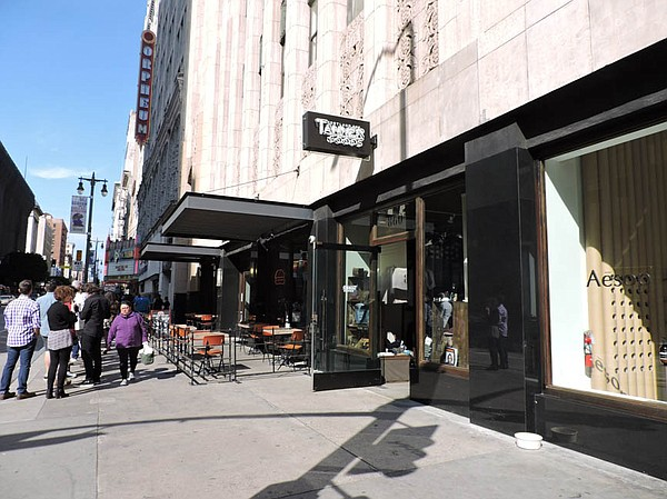 Tanner Goods, high-end store on Broadway