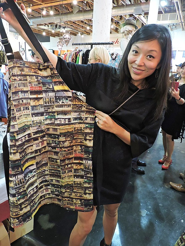 FROM SHANGHAI WITH LOVE: Amanda Shi at American Rag shop-in-shop