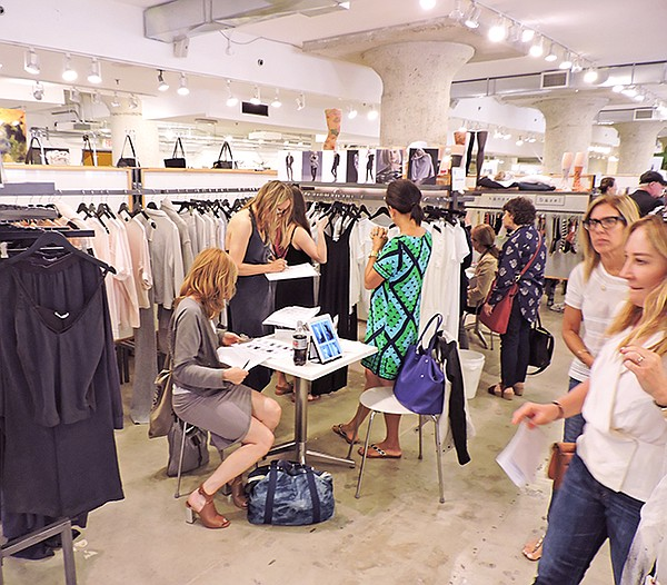 Opening day of LA Fashion Market at Designers and Agents