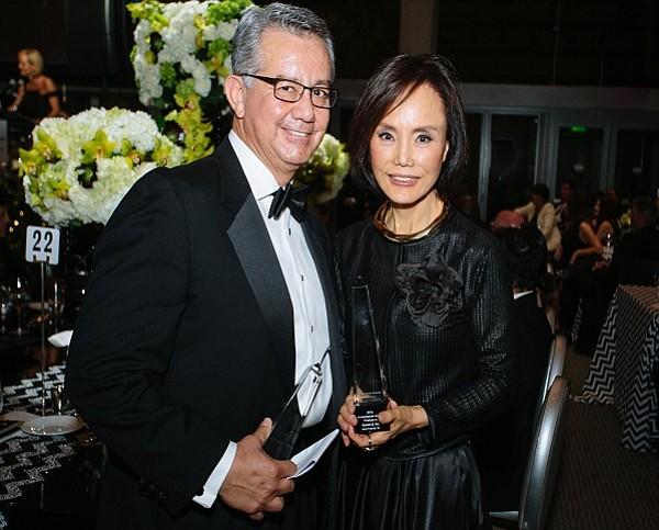 George P. Blanco and Sunnie S. Kim (Photo by Skip Hopkins Photography)
