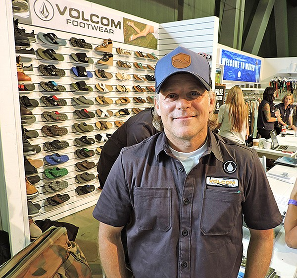 Volcom founder Richard Woolcott