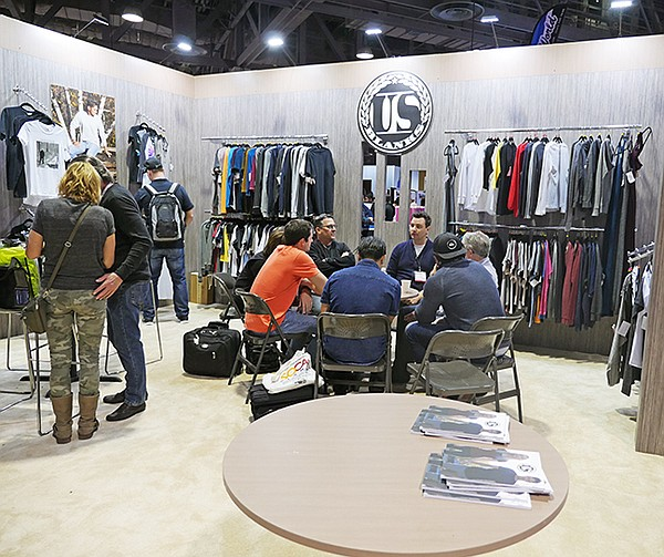 ISS: T-shirt Trade Show Growing
