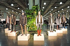 MRket New York Bows Activewear Section, Fashion Installations