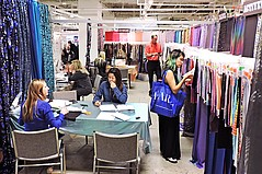 Light Traffic, 'Enthusiastic' Buyers at LA Textile Show