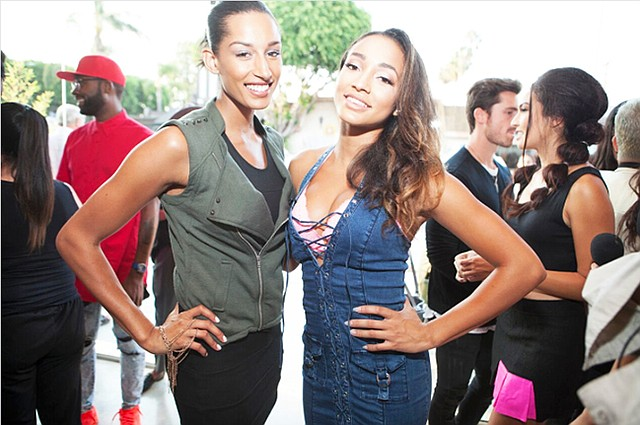 Kiara Belen and Courtney Allegra