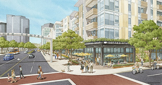 A Promenade 2035 rendering | Photo Courtesy of Westfield