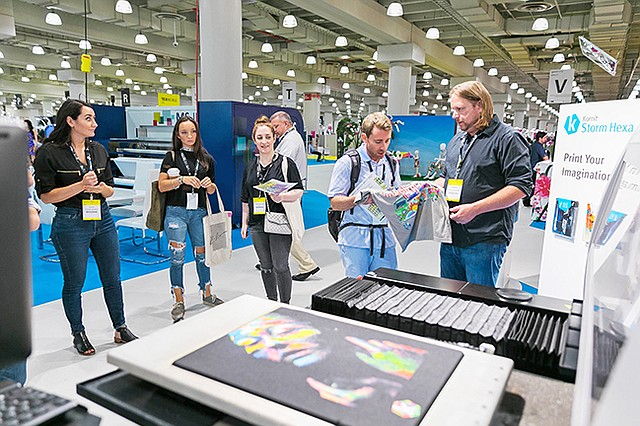 Avanprint debuted at Texworld USA