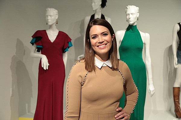 "Mandy Moore with costumes from ""This Is Us"""
