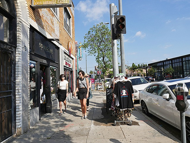 ECHO PARK: New stores and investment are coming to Sunset Boulevard and Mohawk Avenue in Los Angeles' Echo Park section. | Photo by Andrew Asch
