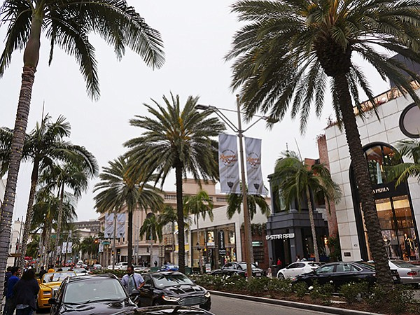 Rodeo Drive is one of the priciest shopping streets in the United States.