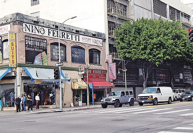 The Nino Ferrutti store at 763 S. Los Angeles St, which sits under the former Nino Ferretti space.