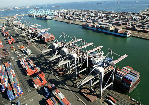 SHIPPING NEWS: The Port of Los Angeles, one of the busiest ports in the country, predicts that a trade war could take a big chunk out of business and idle workers on the docks.