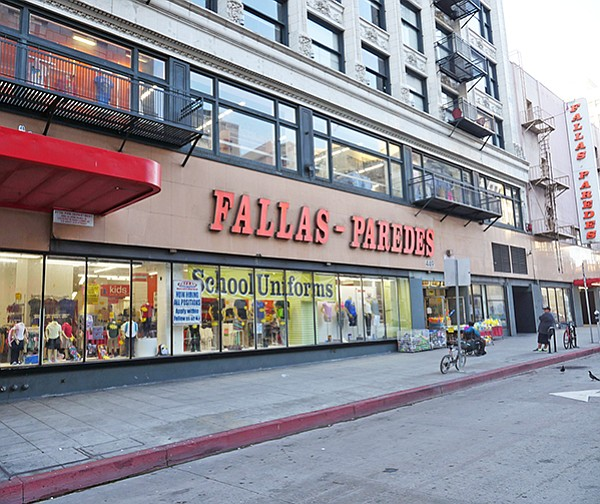 0a0a5e98b80 National s Bankruptcy Filing. A Fallas Paredes store in downtown Los  Angeles