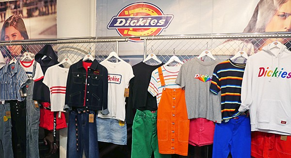 Dickies Girl display
