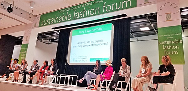 """The """"Ask the Experts"""" panel at the Sustainable Fashion Forum"""