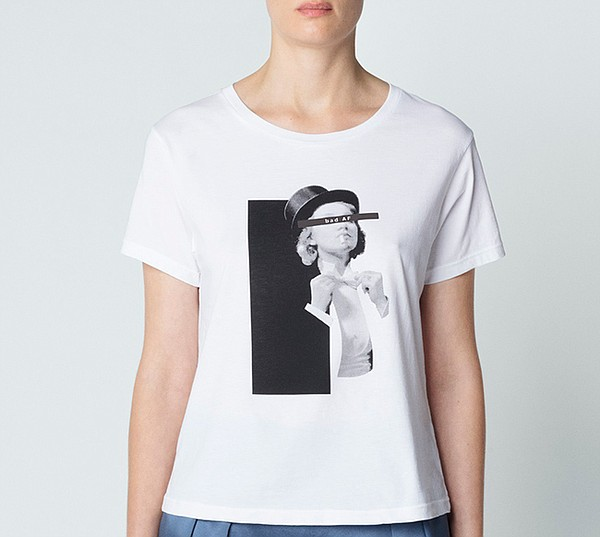 Gertrud graphic tee Bad AF