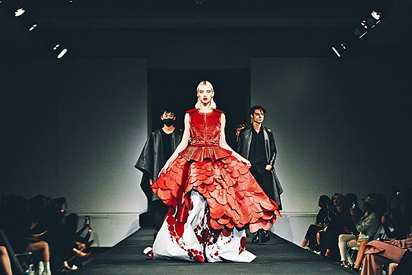 Matea Benedetti dress | Photo by Jordan McKinsey