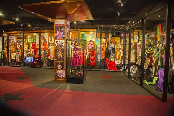 A look from Hollywood Museum's Ever After exhibit. All images courtesy of Hollywood Museum