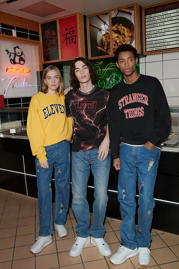 Styles from Levi's x Stranger Things. All images courtesy of Levi's