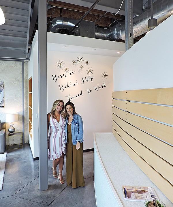 Wise, left, with Marketing Director Heather Mesenbrink