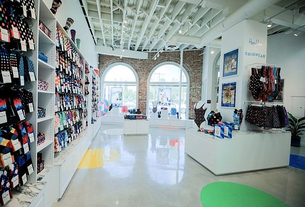 Stock image of a Happy Socks boutique. Image courtesy of Happy Socks