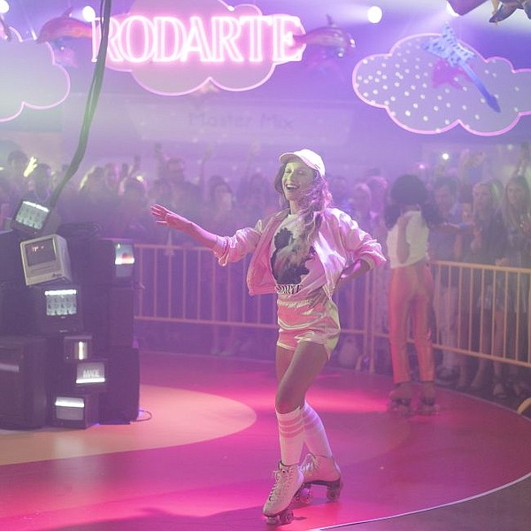 Roller disco at the Rodarte x Made show. Photo by Tim Regas