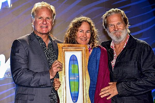 Mark Christy, Dianna Cohen and Jeff Bridges