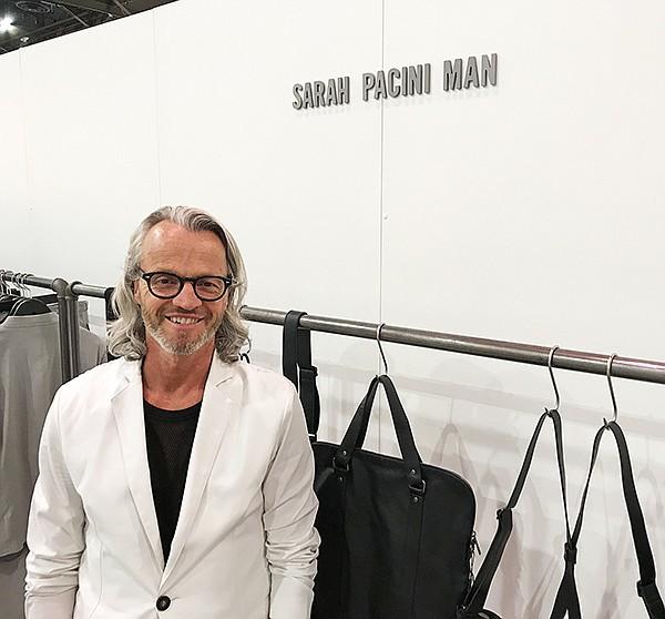Marcel LaFrance of Sarah Pacini Man