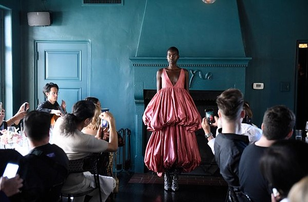 From Puey Quiñones' Spring/Summer 2020 show. All photos by Vivien Killilea Best/Getty for Puey Quiñones