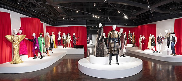 "The ""Art of Television Costume Design"" exhibition"