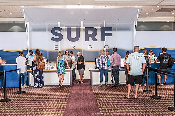 Check-in at Surf Expo 2018