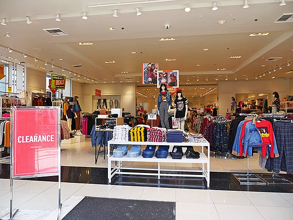 The Forever 21 store at The Americana at Brand.