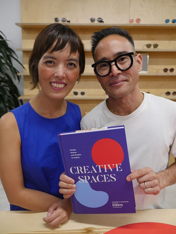 Angie Myung and Ted Vadakan
