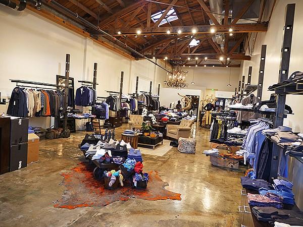 Avedon store interior