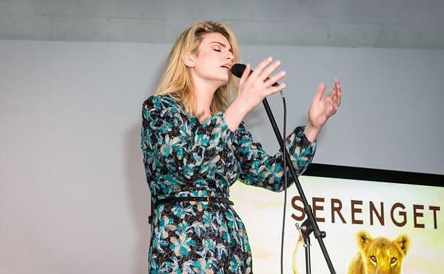 Lola Lennox performs. Photo courtesy of LAFF